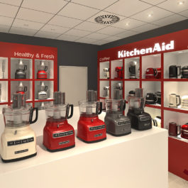 KitchenAid sales area