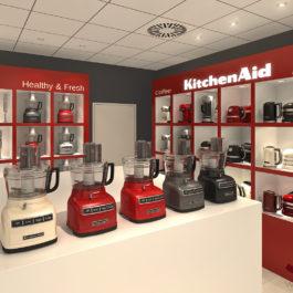 KitchenAid sales area